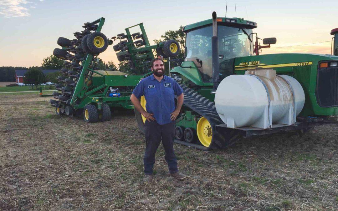 Planting wheat