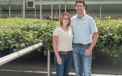 Alison and Ben Sklarczyk, Sklarczyk Seed Farm LLC