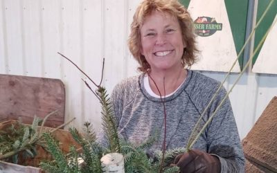 Cindy Visser, Visser Farms
