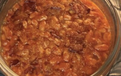 Sweet and Savory Michigan Baked Beans